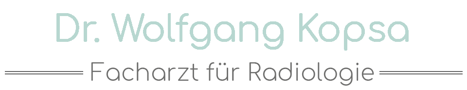 Dr. Wolfgang Kopsa - Facharzt für Radiologie